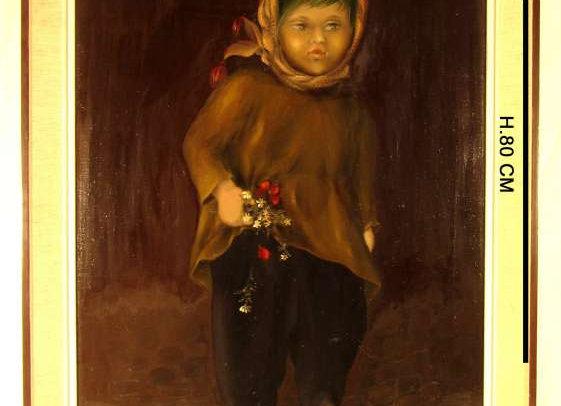 Tableau portrait, de Nazifé Güleryüz
