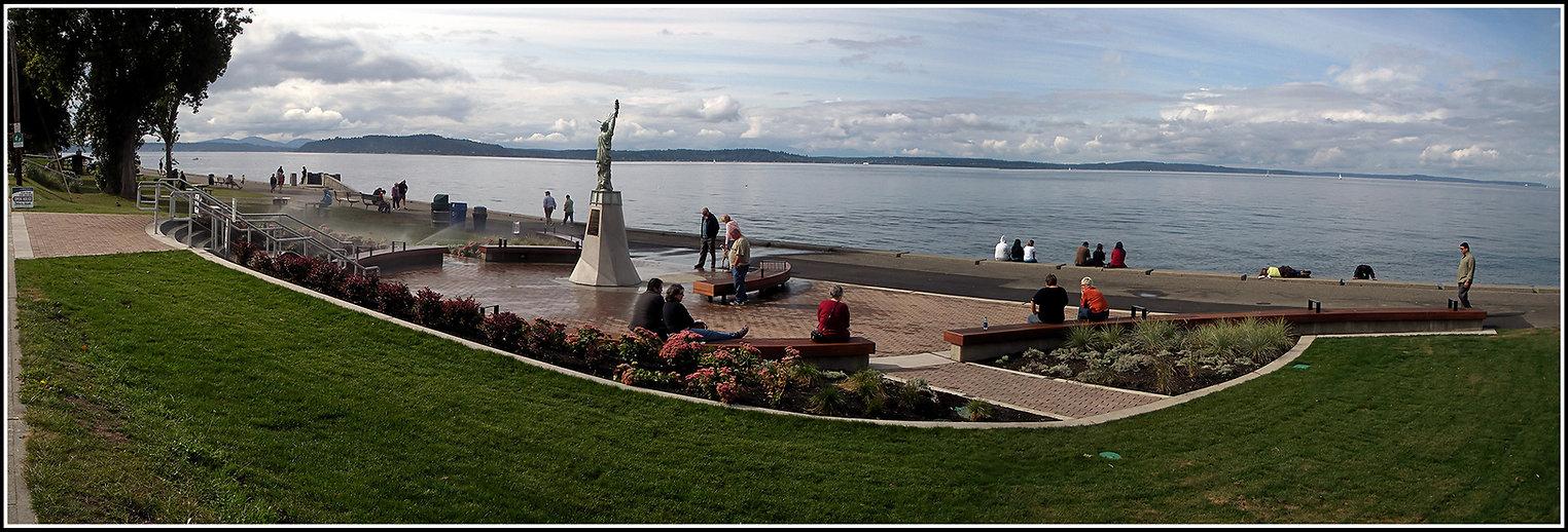 20080921 143421 Alki Statue of Liberty P