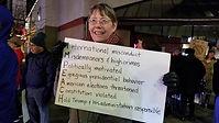 WSDW Ann at Impeachment Rally Dec 18 19.