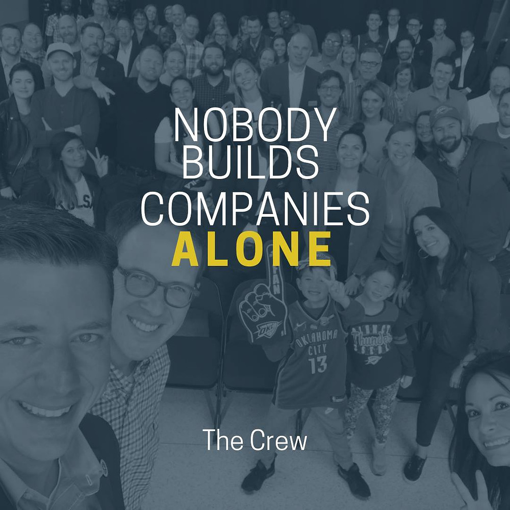 Nobody Builds Companies Alone