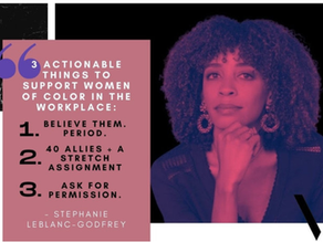 Supporting Black Women in the Workplace