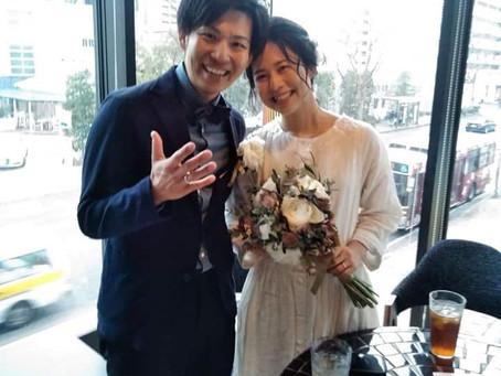 結婚式二次会!