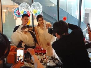 結婚披露パーティー!