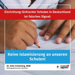 Keine Islamisierung an unseren Schulen!