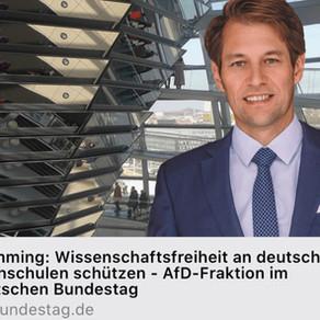 03.02.2021  Wissenschaftsfreiheit an deutschen Hochschulen schützen