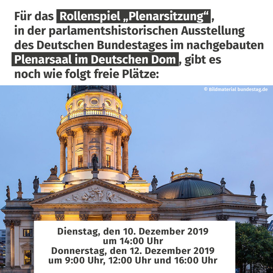 Plenarsitzung Dom Berlin