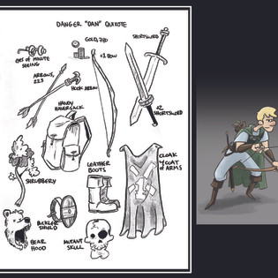 Dan Quixote Character Card