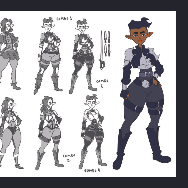 Ilara Devone Character Sheet