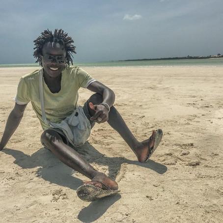 I beach boys in Kenya