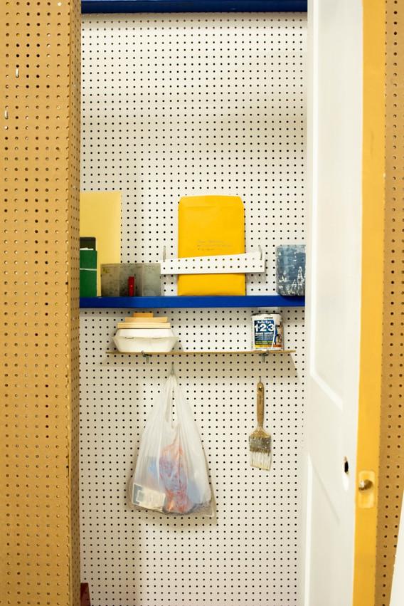 waste closet (detail)