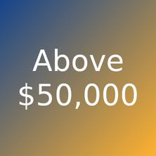 Artworks priced more than $50000