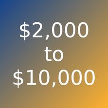 Artworks priced $2000 - $10000