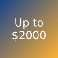 Artworks priced less than $2000