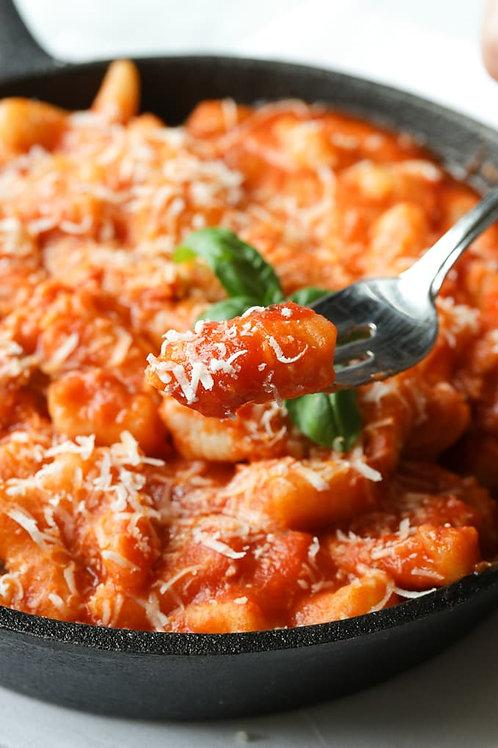 Potato Gnocchi, Milled Tomato Basil Sauce  And Fresh Mozzarella