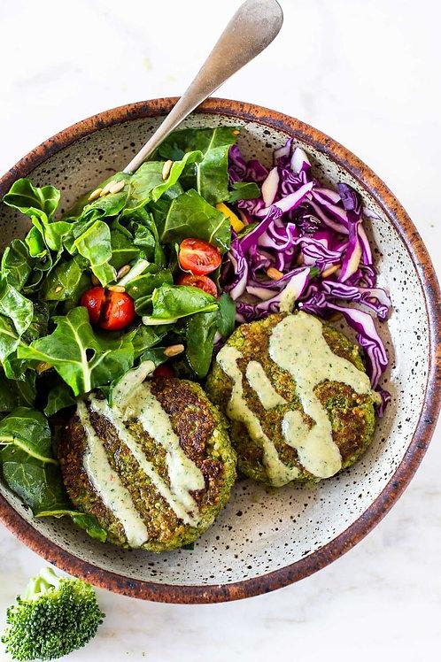 Broccoli Quinoa Cakes