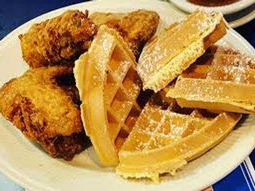Crispy Chicken and Waffles