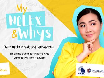 My NCLEX And Whys: A Free Webinar for Filipino Nurses