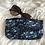Thumbnail: Trousse / étui à lunettes en coton FLEURI
