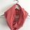 Thumbnail: Tour de cou / snood en double gaze de coton corail rose