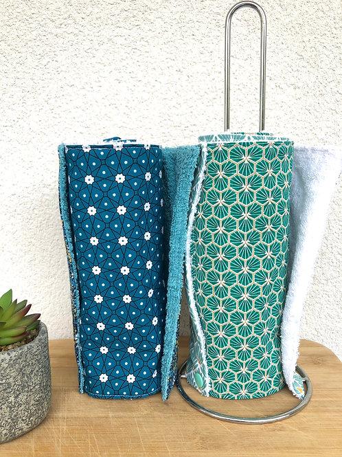 Essuie tout lavable et réutilisable motifs