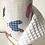 Thumbnail: Essuie tout lavable et réutilisable motif poule multicolore
