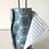 Thumbnail: Essuie tout lavable et réutilisable motif rond bleu