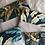 Thumbnail: Trousse / étui à lunettes en coton motifs multicolores
