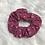 Thumbnail: Chouchou élastique en tissu fleuri