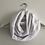 Thumbnail: Tour de cou / snood en double gaze de coton blanc
