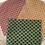Thumbnail: Bee wrap/ film alimentaire réutilisable motifs éventails