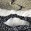 Thumbnail: Headband / bandeau en coton fleuri blanc
