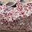 Thumbnail: Cabas en toile de coton aspect lin motifs fleuris