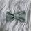 Thumbnail: Barrette en coton avec fils lurex