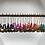 Thumbnail: Créoles dorées perles heishi et sequins dorés