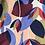 Thumbnail: Cabas en toile de coton motifs multicolores