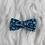 Thumbnail: Barrette en coton motifs fleuris
