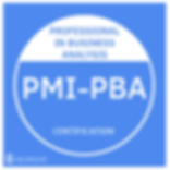 Professional in Business Analysis - PMI-PBA
