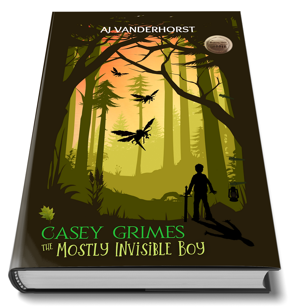 The Mostly Invisible Boy book cover