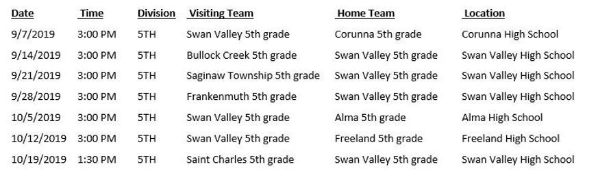 2019 5th grade schedule.JPG