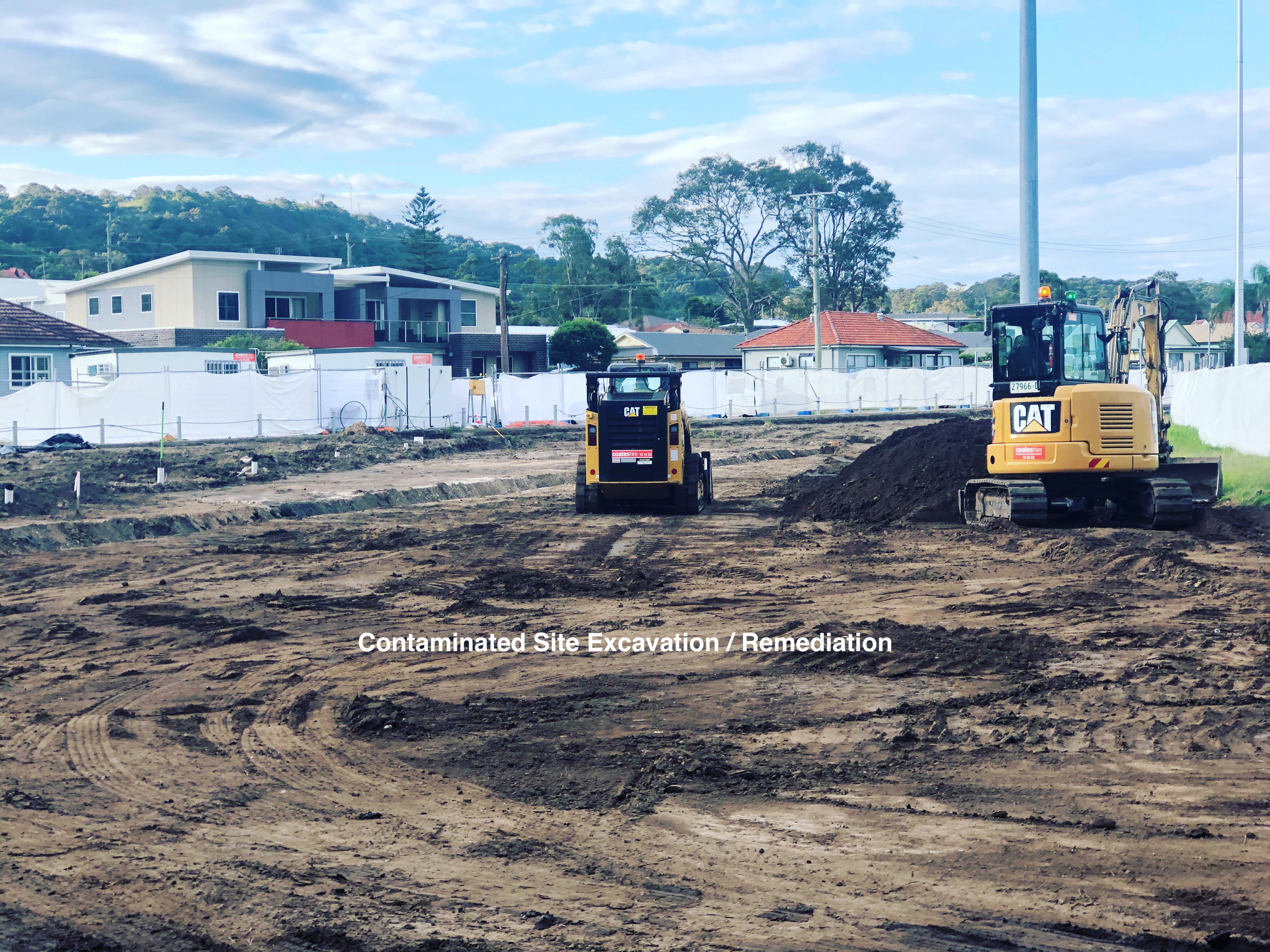 Contaminated Site Excavation