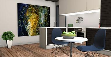 LiteShelf Inset Modern Kitchen