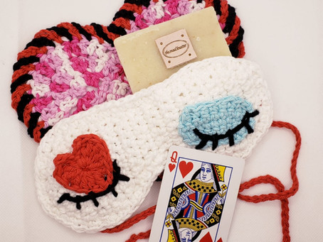 FREE Valentines Heart Shaped Washcloth Spa Gift Set