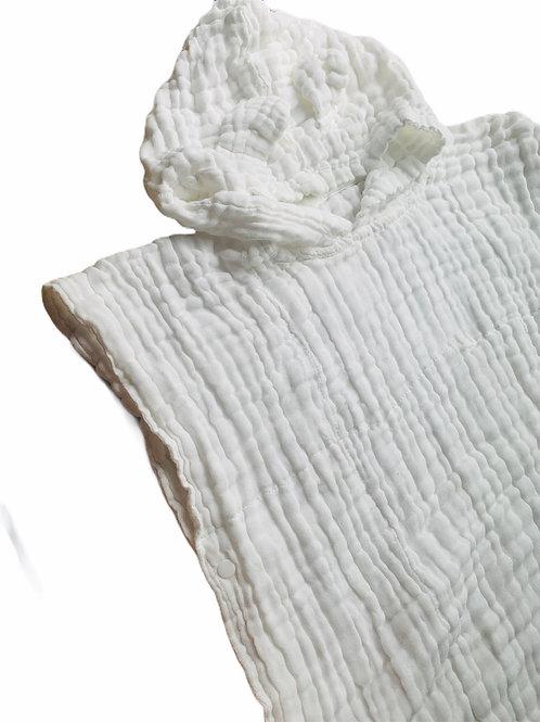 Poncho gaze de coton personnalisée