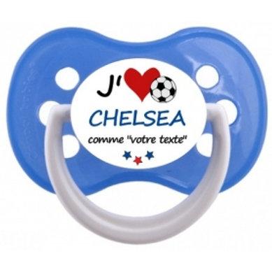 Tétine J'aime Chelsea