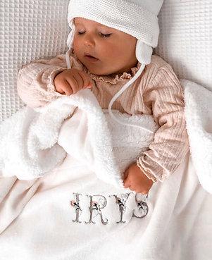 Couverture polaire bébé/enfant personalisée