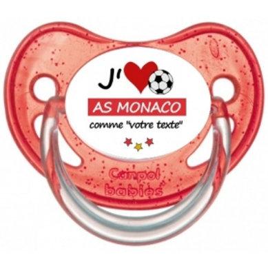 Tétine J'aime AS Monaco