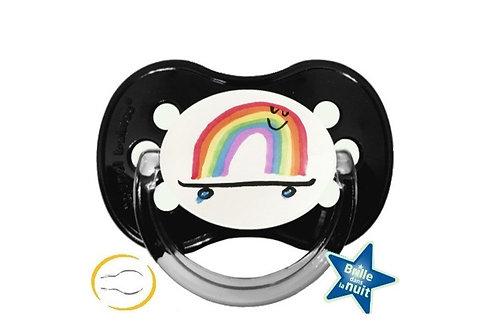 Tétine rainbow skate