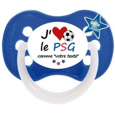 Tétine J'aime le PSG