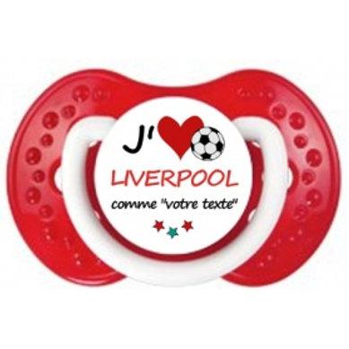 Tétine j'aime le Liverpool