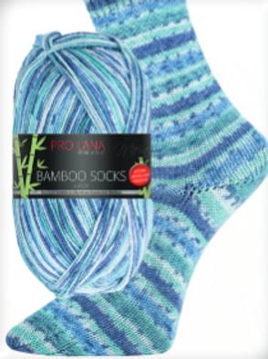 Bamboo Socks blau Nr.956